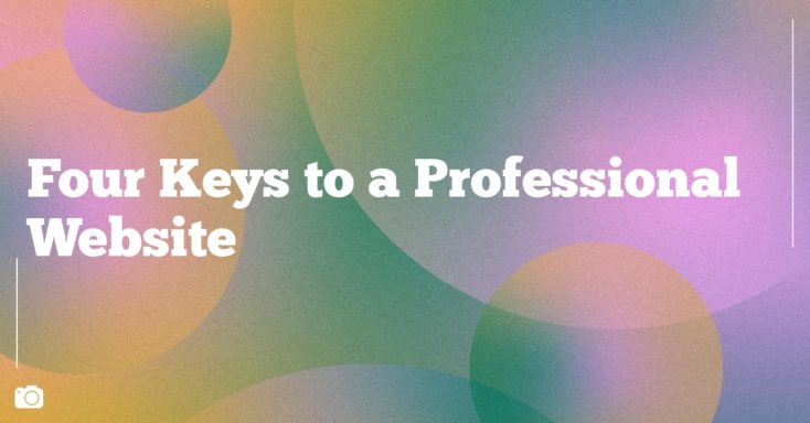 Four Keys to a Professional Website